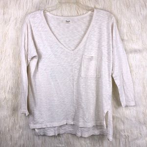 Madewell top 💯 % cotton